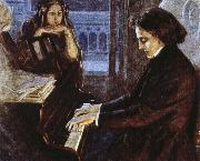 oscar wilde an artist s impression of chopin at the piano composing his preludes oil painting picture wholesale
